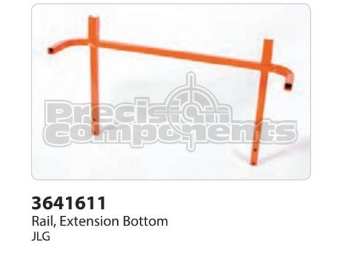 JLG Rail, Extension Bottom - Part Number 3641611