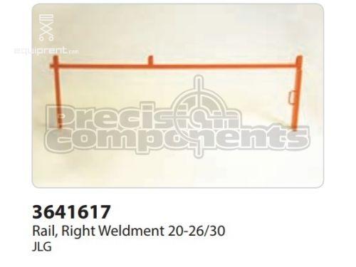 JLG Rail, Right Weldment 20-26/30, Part #3641617
