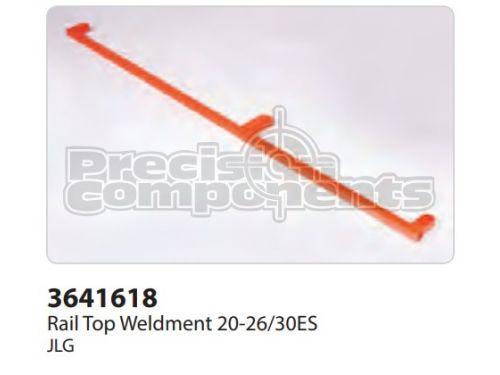JLG Rail, Weldment Top 20-26/30 ES - Part Number 3641618