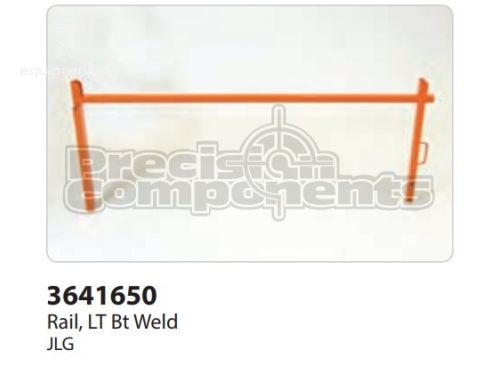 JLG Rail,LT BT Weld, Part #3641650