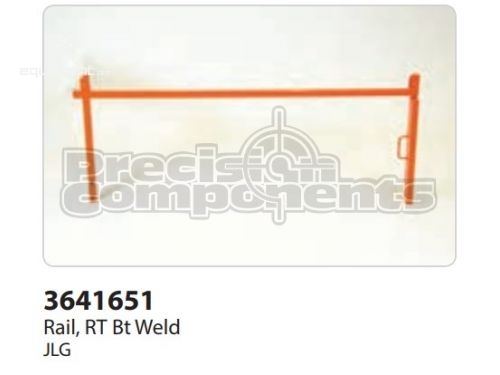JLG Rail,RT BT Weld, Part #3641651