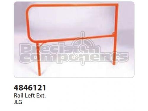 JLG Weldment, Ext. Siderail - Part Number 4846121