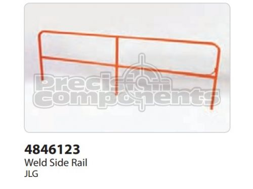 JLG Weldment, Side Rail - Part Number 4846123