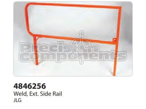 JLG Weldment, Ext. Siderail - Part Number 4846256