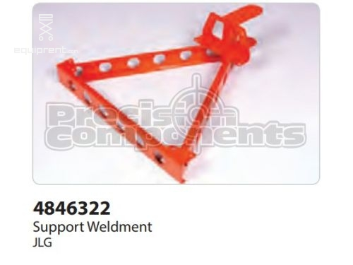 JLG Weld, Support (CE) E300A/AJ E45, Part #4846322