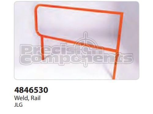 JLG Weldment, Rail - Part Number 4846530