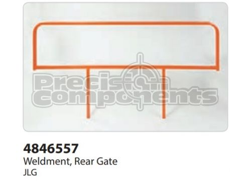 JLG Weldment, Rear Gate - Part Number 4846557