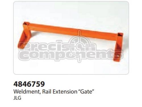 """JLG Weldment, Rail Ext. """"Gate"""" - Part Number 4846759"""