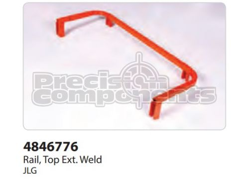 JLG Weldment, Top Ext. Rail 2646 NAU - Part Number 4846776