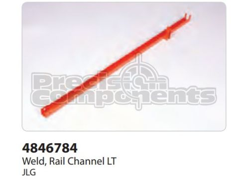JLG Weldment, Rail Channel LT - Part Number 4846784