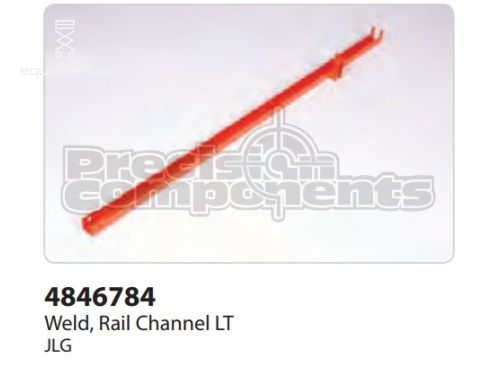 JLG Weld, Rail Channel LT, Part #4846784