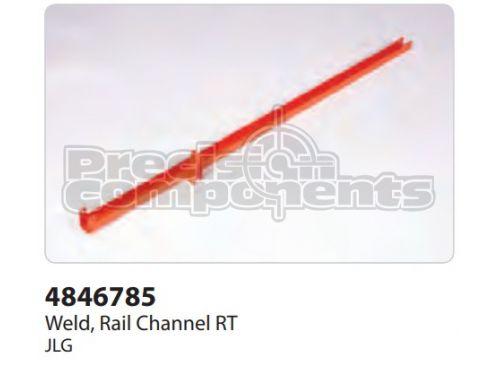 JLG Weldment, Rail Channel RT - Part Number 4846785