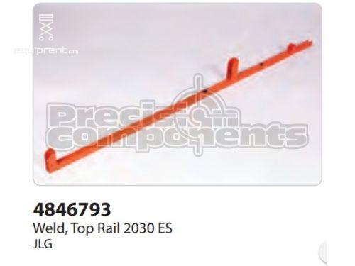 JLG Weld, Top Rail 2030 ES, Part #4846793