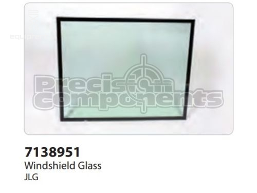 JLG Glass, Windshield, Laminated, Part #7138951