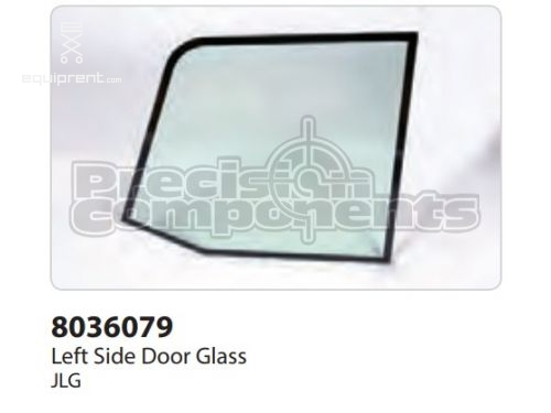 JLG Glass, Door Window, Tempered, Part #8036079