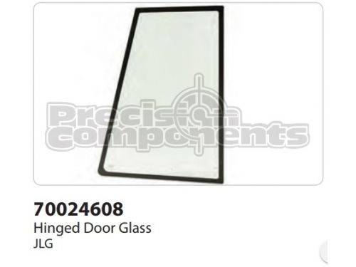 JLG Hinged Door Glass - Part Number 70024608
