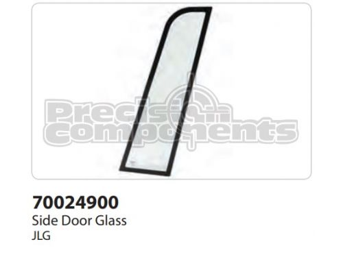 JLG Side Glass, Door - Part Number 70024900