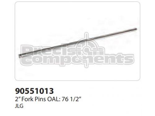 """JLG 2"""" Fork Pins OAL: 76-1/2"""" - Part Number 90551013"""