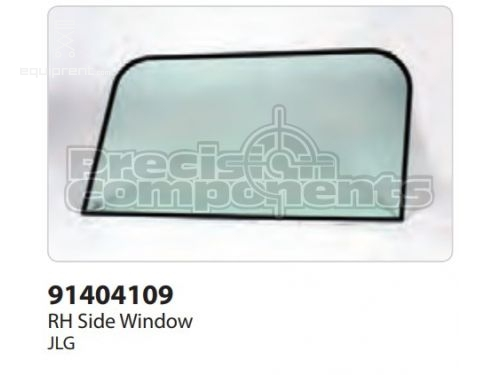 JLG RH SIDE WINDOW, Part #91404109