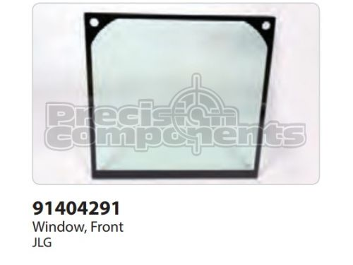 JLG Window, Front - Part Number 91404291