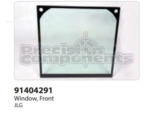 JLG Window, Front, Part #91404291