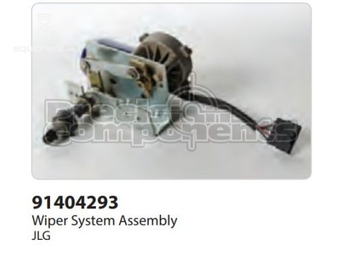 JLG Wiper System Assy, Part #91404293