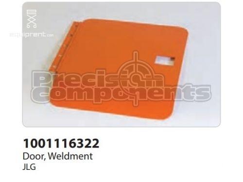 JLG Door, Weldment, Part #1001116322