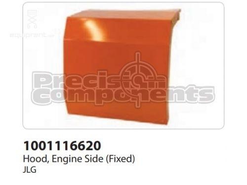 JLG Hood, Engine Side (Fixed), Part #1001116620