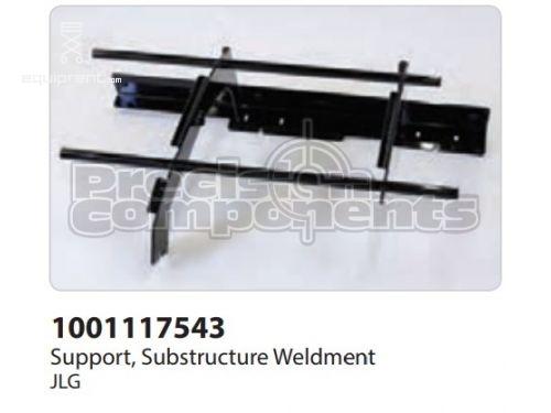 JLG Support, Substructure Weldment, Part #1001117543