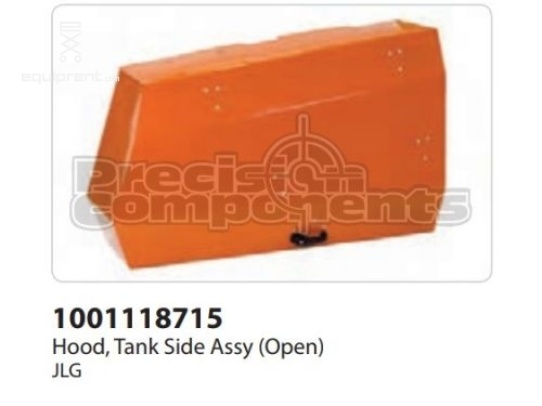 JLG Hood, Tank Side Assy (Open), Part #1001118715