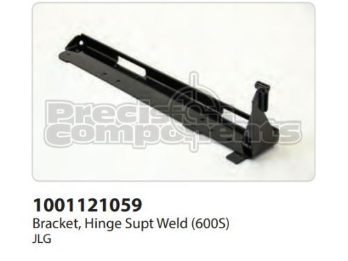 JLG Bracket, Hinge Supt. Weldment (600S) - Part Number 1001121059