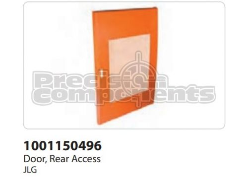 JLG Door, Rear Access - Part Number 1001150496