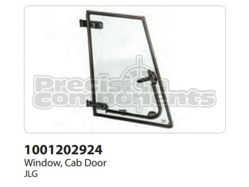 JLG Window, Cab Door - Part Number 1001202924