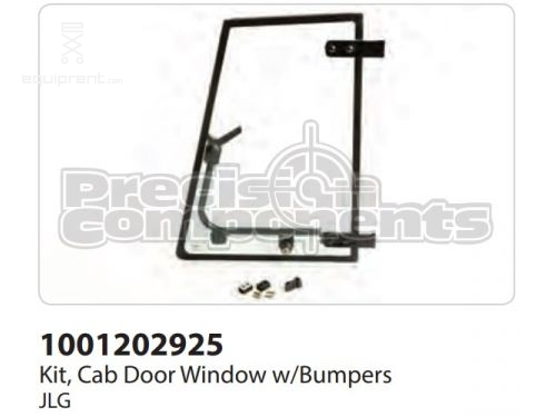 JLG Kit, Cab Door Window w/Bumpers, Part #1001202925