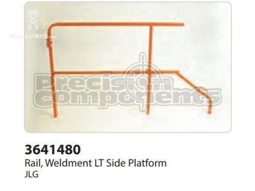 JLG Rail, Weldment LT Side Platf, Part #3641480S