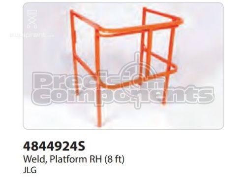 JLG Weld, Platform RH (8 ft), Part #4844924S