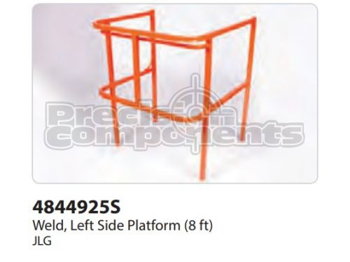 JLG Weldment, Left Side Platform (8 ft.) - Part Number 4844925S