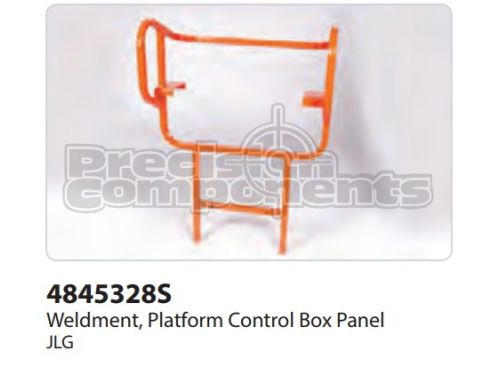 JLG Weldment, Platform Control Box Panel - Part Number 4845328S