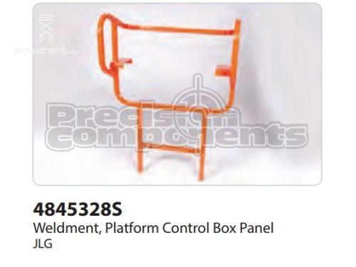 JLG Wldt, Platform Control Box Panel, Part #4845328S