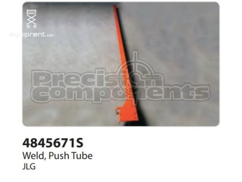 JLG Weld, Push Tube, Part #4845671S