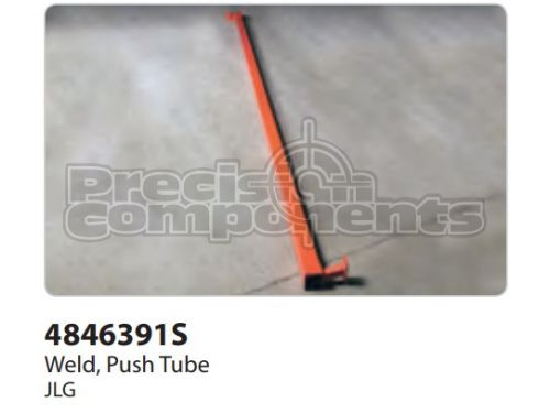 JLG Weldment, Push Tube - Part Number 4846391S