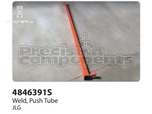 JLG Weld, Push Tube, Part #4846391S