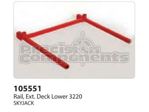 SkyJack Rail, Extension Deck Lower 3220 - Part Number 105551
