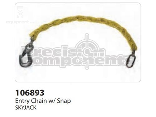 SkyJack Entry Chain w/ Snap, Part #106893