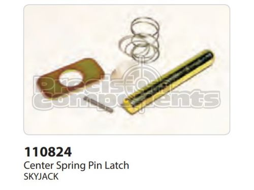 SkyJack Center Spring Pin Latch - Part Number 110824