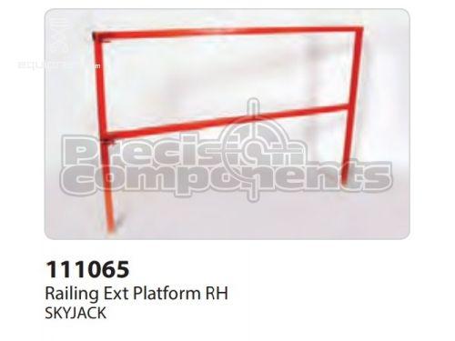 SkyJack Railing Ext Platform RH, Part #111065