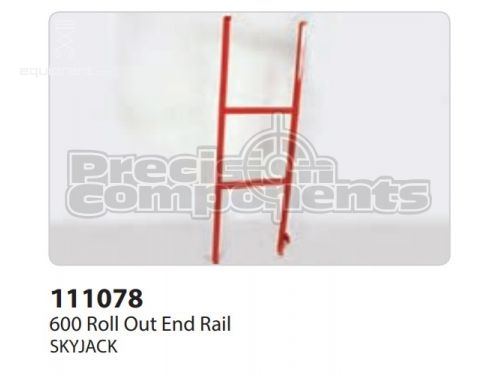 SkyJack 600 Roll Out End Rail, Part #111078