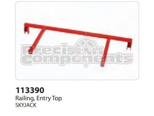 SkyJack Railing, Entry Top - Part Number 113390