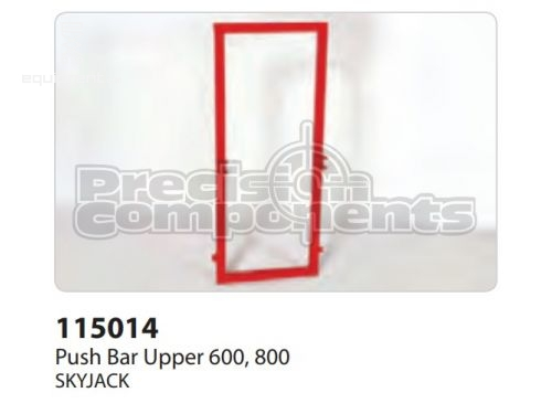 SkyJack Push Bar Upper 600, 800, Part #115014