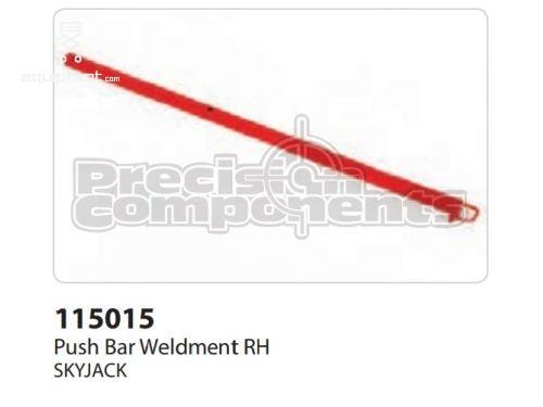 SkyJack Push Bar Weldment RH, Part #115015